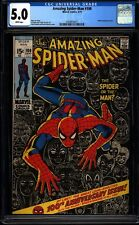 Amazing Spider-man 100 CGC 5.0 White Bronze Key Marvel Milestone Issue L@@K IGKC
