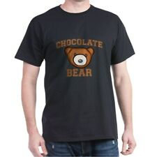 CafePress Chocolate Bear Dark T Shirt 100% Cotton T-Shirt (564898632)