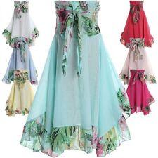 Markenlose wadenlange Mädchenkleider