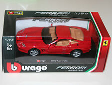 Burago - FERRARI 550 MARANELLO (Red) - Die Cast Model - Scale 1:24