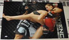 Liz Carmouche Signed 20x30 Photo PSA/DNA COA UFC on Fox 11 vs Miesha Tate Auto'd