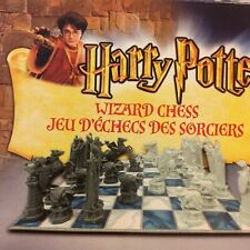 2002 Harry Potter Wizard Chess Set Mattel #43533 JK Rowling Sorcerers Stone