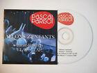 PASCAL PARISOT : ALLONS ZENFANTS ♦ CD SINGLE PORT GRATUIT ♦