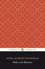 Acceptable, Emile; or On Education (Classics), Rousseau, Jean-Jacques, Book