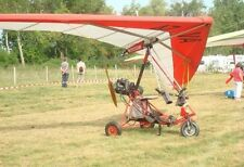Air Creation Racer French Ultralight Trike Aircraft Desktop Wood Model Large