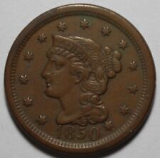 1850 US Large Cent AE10