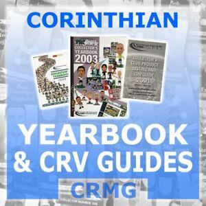 CRMG Corinthian ProStars MicroStars YEARBOOK & CRV GUIDES MEMBERSHIP