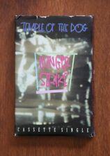 Rare Vtg Temple Of The Dog HUNGER STRIKE Chris Cornell 1991 Cassette Single