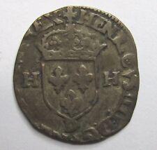 HENRI IV - Douzain aux 2 H - 1594 D - Lyon -