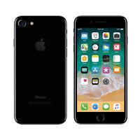 "Apple iPhone 7 Jet Black 128GB 256GB 4G LTE Unlocked 4.7"" Smartphone IOS"