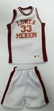 Custom 1/6  Kobe Bryant High school 33 Lower Merion jersey fit Enterbay figures