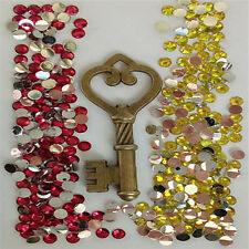 W213 New Bronze key 3D DIY Mobile Cell Phone Case Alloy Crystal -Deco Den Kit