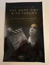 """NICK CAVE 11""""x17"""" Promo Poster for """"One More Time With Feeling"""" doc. film / NM"""