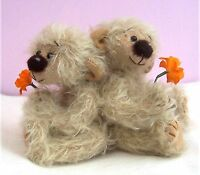 """Arnold 5"""" soft toy teddy bear sewing PATTERN  by pcbangles"""