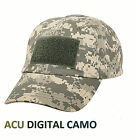 US Submarine Service Tactical Ops Ball Cap Solid or Camo Sub Silver Dolphins Hat