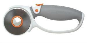 Fiskars 60mm Titanium Rotary Cutter Trimmer Soft Grip - Fabric Card 9511P