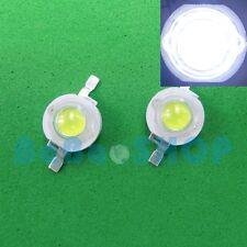 10pcs 3W 45mil Cold Cool White 10000K High Power LED Lamp Beads Light Aquarium