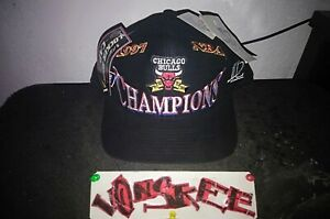 🏀CHICAGO BULLS 1997 CHAMPIONS HAT_THE LAST DANCE🏀