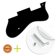 3 Ply Pickguard Fits Epiphone Dot Style Guitar with Bracket - BLACK