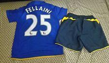Everton football kit for boys size MB                      #25 FELLAINI
