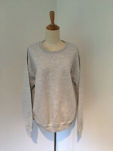 PRETTYLITTLETHING Ash Grey Oversized Sweatshirt Brand New With Tags Size Medium