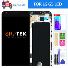 For LG G5 Screen Replacement Frame LS992 H840 H850 LCD Display Touch Digitizer