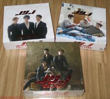 JYJ STAR COLLECTION CARD SET TYPE A + B + C SEALED