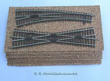 10 Stück 10X15 2mm Kork Weichen Bettung Unterlage der Spur Z- N- TT- HO