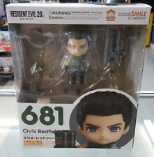 Chris Redfield Resident Evil Nendoroid Authentic USA Seller