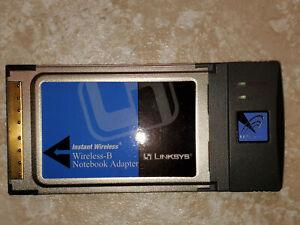 CISCO LINKSYS WPC11 ver 4 Wireless-B Notebook Adapter - vintage