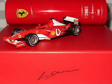 1/43 IXO FERRARI LA STORIA  SCHUMACHER WORLD CHAMPION 2003  WINNER SF1 14/03