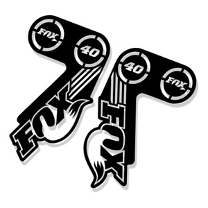 Fox 40 2015 Style Suspension Fork Decal/Stickers | Replacement | Racing, Factory