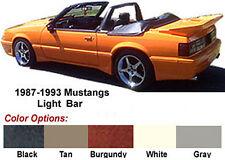MUSTANG CONVERTIBLE LIGHT BAR,  1990-93 (1979-89 see note),