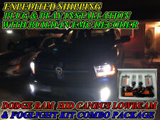 2017 RAM 1500 CANBUS HID KIT (WITH PROJECTOR) 9005(LOW) 9006(FOG) COMBO PACKAGE