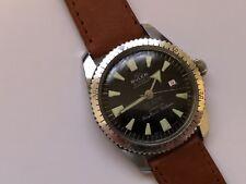 vintage diver bvler 21 jewel shockproof 20 atm jemaflex  beryllium balance 🇨🇭