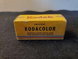 Vintage 1940s Kodak Kodacolor Negative Color Safety Film C 120 Sealed Box