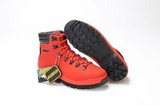 AUTHENTIC MEN'S ASOLO SUPERMACY HIKING BOOTS AS-201M RED SZ 8-12 *NEW*