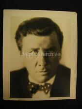 20s George Bancroft VINTAGE Oversize PHOTO By Hommel w/Credit OS85