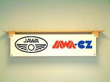 Jawa CZ Banner Motorcycle Club Show Garage Workshop Display sign
