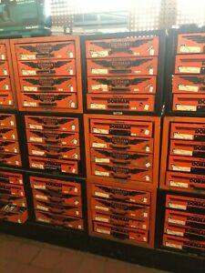 4 drawer metal dorman orange and black cabinets