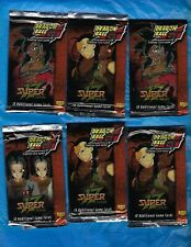 DRAGON BALL Z GT SUPER SAGA 10 BOOSTER  PACKS NEW SEALED CCG SCORE