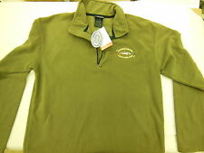 Ouray MICROFLEECE ZIP T-NECK PULLOVER Size M Northwest Outfitters NEW w/ Tag