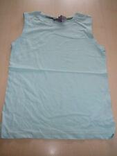 H & M tolles ärmelloses T-Shirt Gr. 122 / 128 hellblau !!
