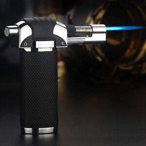 Butane Gas Micro Blow Torch Lighter Welding Soldering Refillable Tool Black