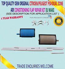 DUAL ZONE AIR CONDITIONING FLAP REPAIR KIT FOR CITROEN C5 PEUGEOT 407 6480E3