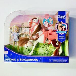 DreamWorks Spirit Riding Free Untamed Collector Doll & Horse Abigail & Boomerang