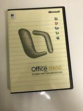 Microsoft Office: Mac 2004 Student And Teacher Edition - 3 Keys