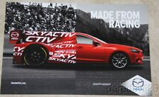 "2015 Mazda Motorsports Skyactiv Diesel P2 ""Made From Racing"" IMSA TUSC postcard"