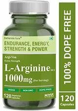 Carbamide Forte L Arginine 1000mg Capsules 120 Veg Capsules Free Ship