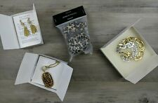 Miche Jewelry Lot Necklace, earrings bracelet Silver New in Box Statement Pieces